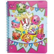 Shopkins Back to School Supplies Bundle of 5: Four 2-Pocket Glossy Portfolio Folders and One 70 Sheet Wide Ruled...