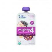Plum Organics Essential Nutrition Blend - Mighty 4 - Purple Carrot Blackberry Quinoa Greek Yogurt -