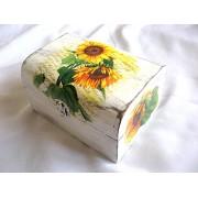Cufar lemn cu floarea soarelui 25676