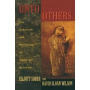 Unto Others by Elliott Sober