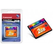Transcend TS2GCF133 2GB CompactFlash flashgeheugen