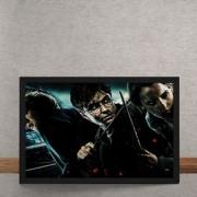 Quadro Decorativo Harry Potter E As Reliquias Da Morte 25x35