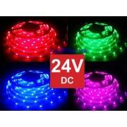 RGB LED pásik, SMD5050, 150LED, 24V