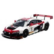 Spark - 5021400335 - Audi R8 LMS Ultra WRT - Gagnant 24H De Spa 2014 - Échelle 1/18 - Blanc/Rouge/Noir