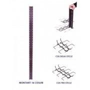 Montant vertical 196 cm