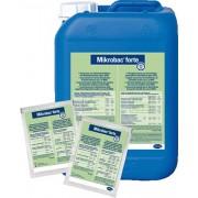 Mikrobac Forte(Concentrat) - Dezinfectant pentru Suprafete Lavabile din Unitatile Sanitare si Industria Alimentara - plic 20ml