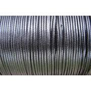 Vaxad Polyestertråd - Svart, 1mm, 1 rulle, ca 182m