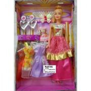 Doll 3 Dresses Set small baby infant girl kids toys for girls Gift Item Toys