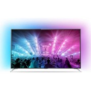 "Televizor LED Philips 190 cm (75"") 75PUS7101/12, Ultra HD 4K, Smart TV, Ambilight, Android TV, WiFi, CI+ + Lantisor placat cu aur si pandantiv in forma de inel gravat"