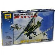 Zvezda Models Ant-5 Soviet Fighter Model Kit