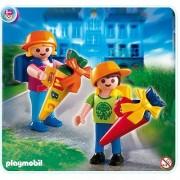 Playmobil 4686 - Ecoliers Avec Pochettes Surprises