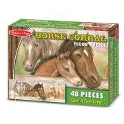 Melissa & Doug Horse Floor Puzzle - Brown - 4414