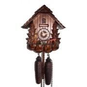 "ISDD Cuckoo Clock - Reloj cucú, diseño ""casa de la selva negra, corzo Vroni"""