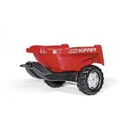 Rolly Toys 128815 - Veicolo a Pedali Kipper II, Rosso