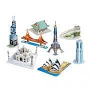 CubicFun Mini Architecture Series 2 World Famous 3D Puzzles