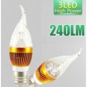 Bec cu LEDuri Economice E14 LED High Power lamp WH