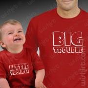 T-shirts Big Trouble - Bebé
