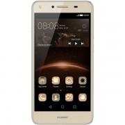 Smartphone Huawei Y5II DS Gold, memorie 8 GB, ram 1 GB, 5 inch, android 5.1 Lollipop