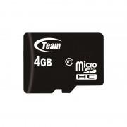Carte microSDHC Class10 4 Go avec adaptateur SD