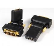 Przejściówka DVI - HDMI obrotowa