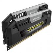 Corsair CMY8GX3M2A1600C9 Vengeance Pro Series Memoria per Desktop a Elevate Prestazioni da 8 GB (2x4 GB), DDR3, 1600 MHz, CL9, con Supporto XMP, Nero