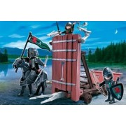 Playmobil -Caballeros con Torre de Defensa - 4869