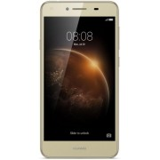 "Telefon Mobil Huawei Y6 II Compact, Procesor Quad-Core 1.3GHz, IPS HD Capacitive touchscreen 5"", 2GB RAM, 16GB Flash, 13MP, Wi-Fi, 4G, Dual Sim, Android (Auriu)"
