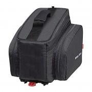 KlickFix Rackpack 2 Gepäckträgertasche für Racktime schwarz Gepäckträgertaschen