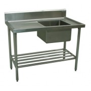 Commercial Sink 1200 x 600 with Single Right Bowl