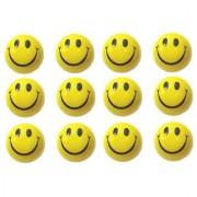 Smiley Sponge Balls Pack of 12