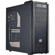 Carcasa 590 III, MiddleTower, Fara sursa, Negru
