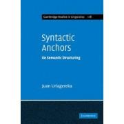 Syntactic Anchors by Juan Uriagereka