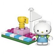 Mega Bloks Hello Kitty Dear Daniel Winners Circle Figure and Accessory Set
