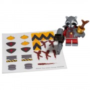 Lego Super Heroes 5002145 Guardians Of The Galaxy - Rocket Raccoon - Minifigure Rocket + Baby Groot + Accessoires (13 Picès)