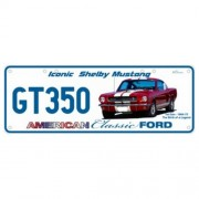"""""""Novelty Number Plate - Ford Mustang Shelby GT350"""""""
