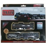 NDS Battery Operated Train Set With Head Light (Black)