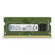 Kingston KVR21S15S8/4 ValueRAM Memoria DDR4 per Notebook da 4 GB, 2133 MHz, Non-ECC CL15 SODIMM 1Rx8, Verde/Nero