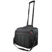 Milagro del espacio Business Laptop Notebook Trolley Trolley bürotasche con compartimento para portátil 15,4 hasta 17 pulgadas maleta ruedas equipaje