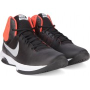 Nike AIR VISI PRO VI Basketball Shoes(Black, White)