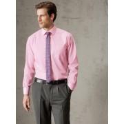 Walbusch Extraglatt-Hemd Kent-Kragen Rosa 44
