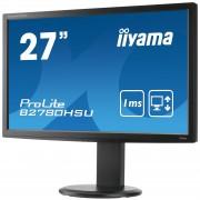 iiyama ProLite B2780HSU-B1 27' LED LCD 1920x1080 1ms Height adj (11cm) 300cd/m² 12M:1 ACR speakers VGA DVI HDMI USB-HUB TCO6