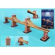 Brooklyn Bridge (New York USA) (35pcs) Cubic Fun