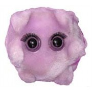Giant Microbes Kissing Disease (Epstein-Barr) Plush Toy by Giant Microbes