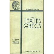 Les Textes Grecs - Classes De 3eme / Texte Francais / Grec.