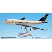 Flight Miniatures Saudi Arabian Airlines 1997 Boeing 747-400 1:200 Scale Display Model