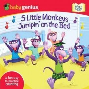 5 Little Monkeys Jumpin' on the Bed by Babygenius