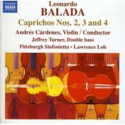L. Balada - Caprichos No.3 For Violin (0747313217670) (1 CD)