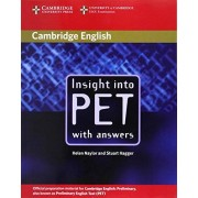 Helen Naylor Insight into PET Student's Book with Answers (Cambridge Books for Cambridge Exams)