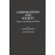 Corporations and Society by Warren J. Samuels