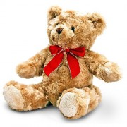 Keel Toys Traditional Bear With Ribbon - 30cm